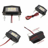 12V Motorrad Kennzeichen LED-licht Wasserdichte Motorrad Lizenz Licht