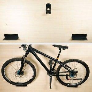 Image 5 - Deemount supporto da parete per bicicletta fino a 25kg di capacità staffa per ruota con gancio per pedale per parcheggio di stoccaggio biciclette con bulloni di espansione
