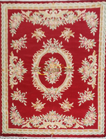 Tapete francês de lã do tapete do egito sobre a máquina feita o tapete savonnerie grosso do luxuoso 137x198 cm 4.5 xx6. 5' Tapete     -