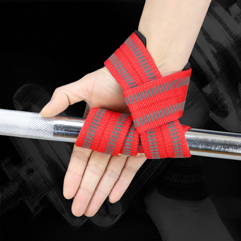 2pcs Gym Lifting Straps Crossfit Gloves Weight lifting Wrist Weight Belt Body Building Men Women Fitness