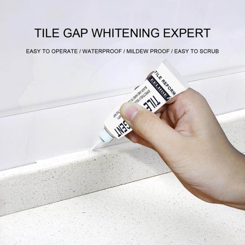 Tile Gap Refill Agent Ceramic Seam Floor Wall Refill Grout Coating Marker Waterproof Home Kitchen Bathroom Paste Repair Pen