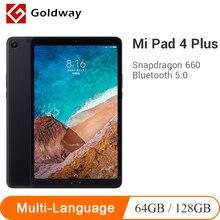 Многоязычный Xiaomi mi Pad 4 Plus 64 Гб/128 ГБ Планшеты 4 Snapdragon 660 AIE 8620 мАч 10,1 ''16:10 1920x1200 экран 13 МП mi Pad 4