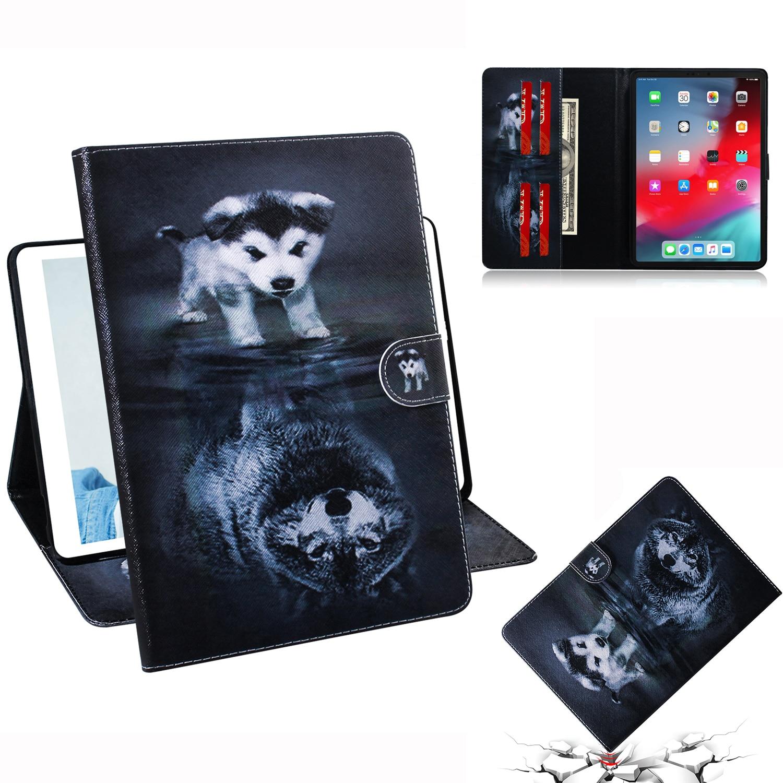 Классный чехол для планшета с изображением щенка волка для Apple iPad Pro 11, чехол 2018, Сумка с откидной крышкой и подставкой для iPad Pro 11 дюймов, A2013, ...