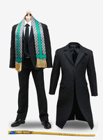 1/6 Loki Man's Suit Wand Windbreaker Suit for 12inch Phicen JIAOUL Doll Hottoy Male Soldier Action Figure Collection POPTOYS X13