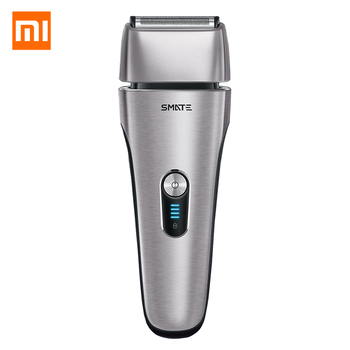 Xiaomi Mijia SMATE Electric Razor 4 Blade Head Waterproof Smart Shaver 3 Min USB Fast Charge Shaving Beard Machine