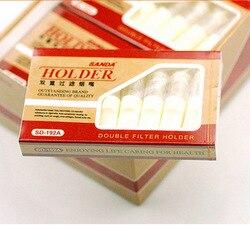 Натуральный продукт SANDA SD-192A одноразовые двойные высокоэффективные мундштук для сигарет с фильтром 8 установлен здоровья заброшенный курит...