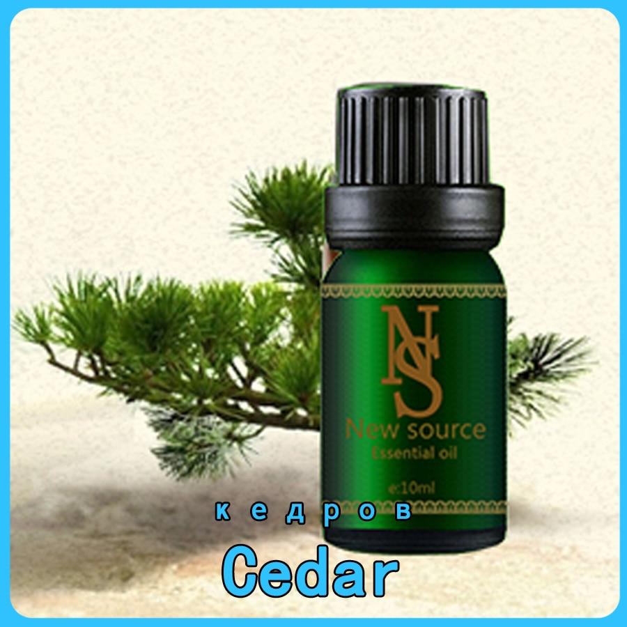 Cedar Essential Oil 10ml Body Face Skin Care Spa Message Fragrance Lamp Aromatherapy Cedar Oil