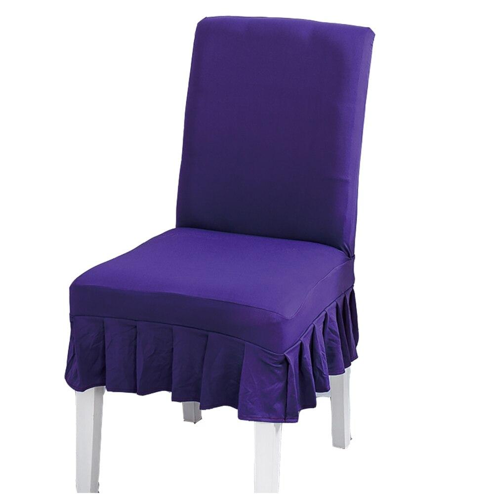 Lychee DIY однотонные плиссированные чехлы на кресла стрейч цветные яркие эластичные чехлы на кресла для дома кухни свадьбы дня рождения вечери...