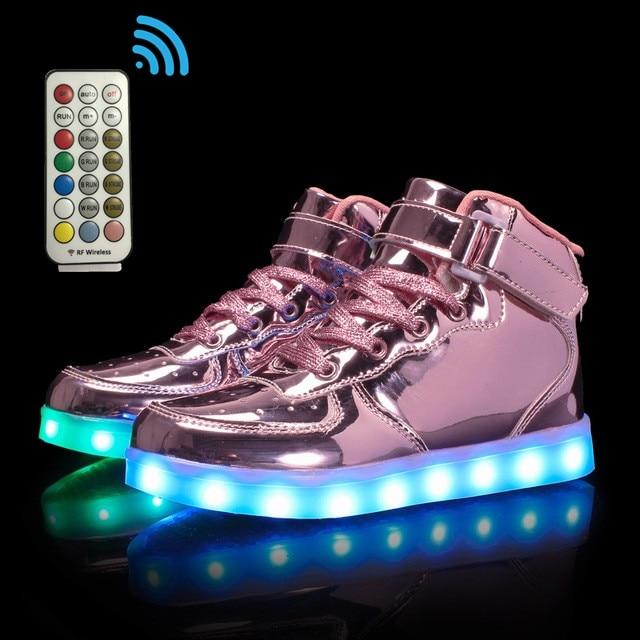 Shoes Flat LED Luminous Shoes Chaussure