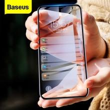 Baseus para iphone x xs protetor de tela 0.2mm 9h vidro temperado para iphone x s ultra fino 6d capa completa frente vidro protetor