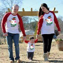 Длинная Рождественская футболка с Санта Клаусом для мамы, дочки, папы и сына; Одинаковая одежда для мамы и ребенка; Семейный комплект одежды в стиле пэчворк