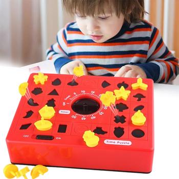 Dzieci śmieszne gry planszowe czas rozrządu Puzzle do układania dla wczesna nauka edukacja dla rodziców i zabawki edukacyjne dla dzieci dla chłopca prezenty tanie i dobre opinie aiboduo CN (pochodzenie) None Chiny certyfikat (3C) Certyfikat europejski (CE) 8 ~ 13 Lat Urodzenia ~ 24 Miesięcy 14 lat i więcej