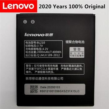 100% Tested Original  High Quality BL210 for Lenovo A536 A606 S820 S820E A750E A770E A656 A766 A658T S650 Phone Replace battery аккумулятор nano tech аналог bl 210 2000mah для lenovo s820 s650 a656 a766