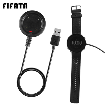 FIFATA For Polar Ignite/Vantage V/M Smart Watch USB Charging Dock Replacement Magnetic Base 100CM Fast Charging Split Charger