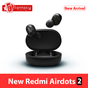 Global Version Xiaomi Redmi AirDots 2 Bluetooth 5.0 Earphone TWS Mi True Wireless Earbuds Basic 2 Headset Auto Link Game Mode