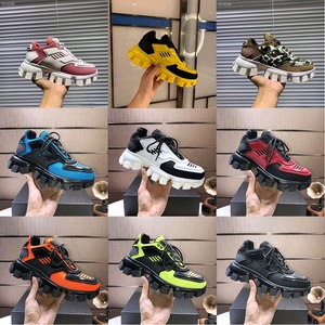 Original Designer Lates P Cloudbust Thunder Lace up Designer Shoes 19FW capsule series color matching platform Luxury sneakers
