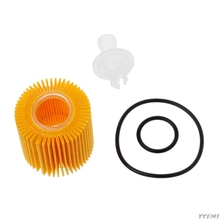 Oil Petrol Filters 04152-YZZA6 Kit For Corolla Prius Toyota Automobiles Filters-