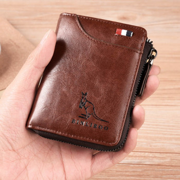 Tendaisy Men's RFID Blocking Wallet 2