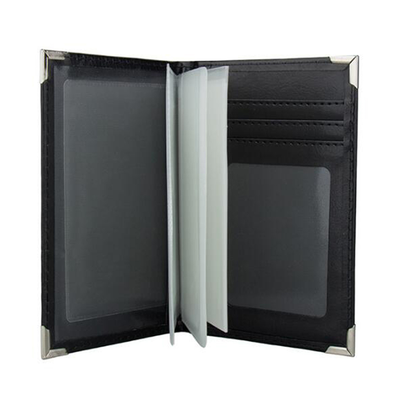 PU Leather Paspoort Cover Case Car Driving Documents Business Credit Card Holder Purse Travel Passport Holder Driver Licens Bag