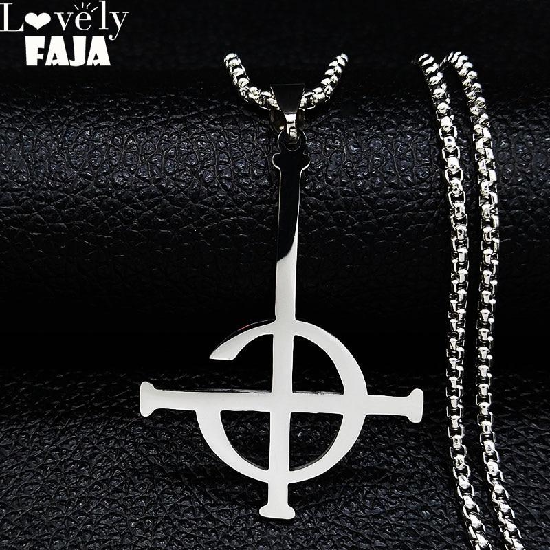 2020 Ghost BC безымное ожерелье из нержавеющей стали Ghoul band Pope emeritus символ маска grucifix плакат ожерелье s ювелирные изделия N643S03