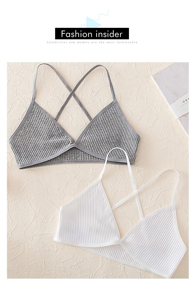 Sizzle Intimates Cotton Bralette lingerie