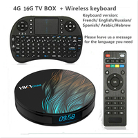 Android 9.0 Smart TV BOX Google Assistant RK3328 4G 64G TV receiver 4K Wifi Media player Play Store Free Apps Fast Set top Box