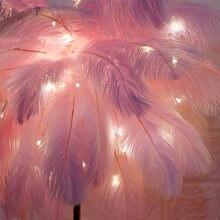 Модные новые цветные перья пушистые сказочные медные для свадебной