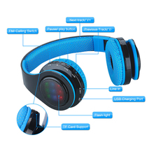 цена на Bluetooth Headphone HIFI Stereo EarphonesMusic Headset FM and Support SD Card with Mic for Mobile Xiaomi Iphone Sumsamg Tablet