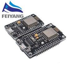 Беспроводной модуль CH340/CP2102 NodeMcu V3 V2 Lua WIFI Интернет вещей макетная плата на основе ESP8266 ESP-12F с pcb антенной