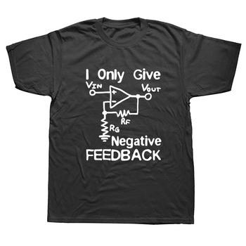 Nowe śmieszne bawełny z krótkim rękawem T koszula bawełniana koszulka z nadrukiem mogę dać negatywną opinię inżynier komputerowy T-Shirt tanie i dobre opinie WEELSGAO Na co dzień Drukuj COTTON Regular O-neck Czesankowej