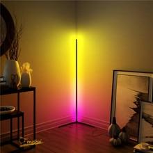 Lampada da terra moderna a LED lampada da terra RGB camera da letto colorata sala da pranzo atmosfera illuminazione Club Home Indoor Decor lampada da terra