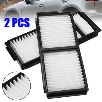Accessories Cabin Air Filters Set For Mazda 3 2004-2009 5 2006-2010 Replacement Parts image
