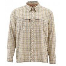 S* MMS Мужская рыболовная рубашка LS клетчатая рубашка быстросохнущая UPF50 УФ рыболовная одежда рыболовные рубашки мужские Camisa США размер m-xl