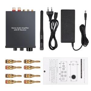 Image 5 - Neoteck amplificador de Audio estéreo Bluetooth 4,2, certificado AptX de baja latencia, amplificador clase D de alta fidelidad, amplificador integrado 50W + 50W