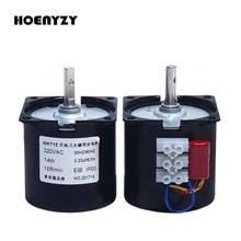 220V AC 14W motoreduktor 60KTYZ magnetyczny synchronizacja silnika 2.5 obr/min 5 obr/min 10 obr/min 15 obr/min 20 obr/min 30 obr/min 40 obr/min 50 obr/min 60 obr/min