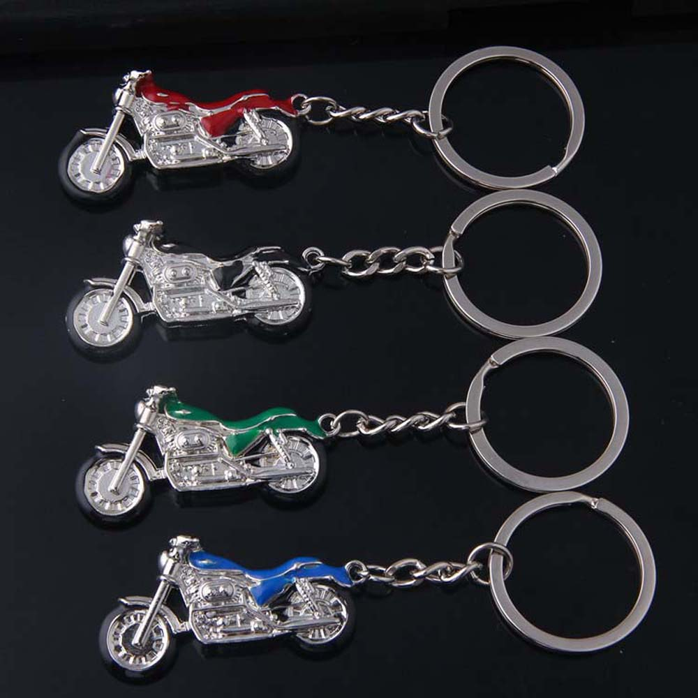 Mountain Motorcycle Pendants Key Chain Toys Creative Model Car Key Holder Bag Charm Accessories 3D Crafts Keychain