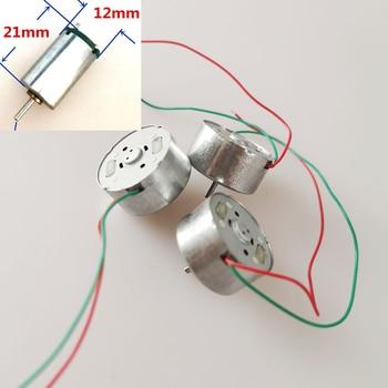 DIY Handwork Model Micro Motor with Wire Solar Energy R300C Small Mini Cap Fan Toy Car