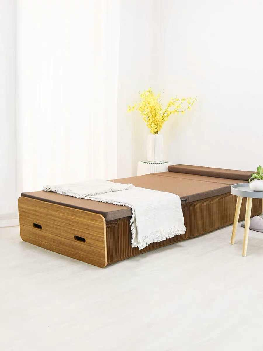 - 18 Paper Organ Paper Bed Folding Bed Creative Single