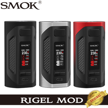 SMOK Rigel Mod 230W Original Box MOD Vape avec écran TFT type-c Cigarette électronique vaporisateur Support TFV9 réservoir V9 bobine maillée