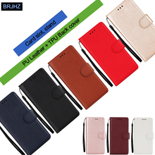 Redmi 7A עור מקרה על עבור Coque Xiaomi Redmi 7A 4A 4X הערה 7 6 5 פרו כיסוי קלאסי סגנון מוצק צבע Flip ארנק מקרי טלפון