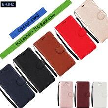 Redmi 7A Leder Fall auf Für Coque Xiaomi Redmi 7A 4A 4X Hinweis 7 6 5 Pro Abdeckung Klassische Stil einfarbig Flip Brieftasche Telefon Fällen