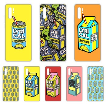 Drink Lyrical Lemonade Aliens Transparent Phone Case cover For HUAWEI 5t p 8 9 10 20 30 40 P pro Smart 2017 2019 Z lite image