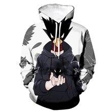 2020 Trendy Anime Hoodies My Hero Academia 3D Printed Hooded Sweatshirt Men/Women Casual Autumn Winter Streetwear Hoodie Unisex