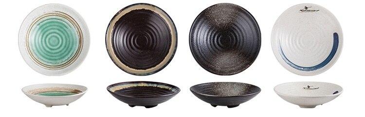 Chanshova chinês estilo retro personalidade cerâmica para