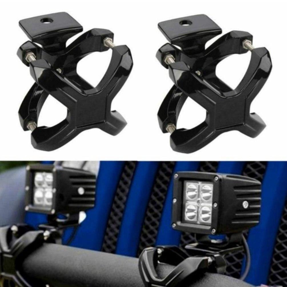 Adjustable Mounting Bracket Holder Kit For Off-road Offroad LED HID Driving Light Led Work Light Bar