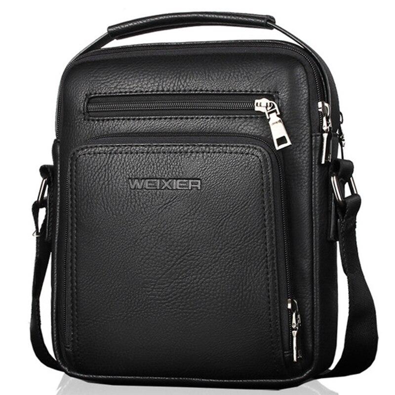 Saco do mensageiro do couro do plutônio bolsa masculina de alta qualidade sacos de ombro marca homens crossbody sacos bolso hombre wbs502