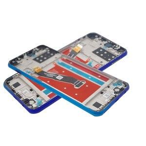 "Image 4 - 6.39 ""מקורי + מסגרת תצוגה עבור Huawei P40 lite E LCD תצוגת Y7p 2020 מגע מסך עצרת LCD עבור huawei P40 lite E תצוגה"