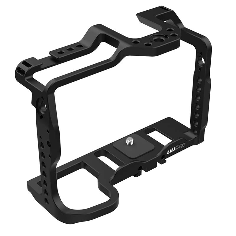 UURig DC-S1 Protective Housing Cage Holder for <font><b>Panasonic</b></font> DC-S1/<font><b>S1R</b></font> DSLR Camera Extension Quick Release Metal Case Rig Stabilizer image