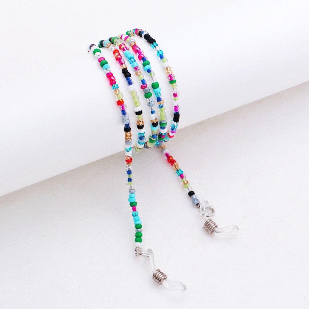Colored Beads Anti-slip Glasses Chain Eyeglass Lanyard Eye wear Accessories New