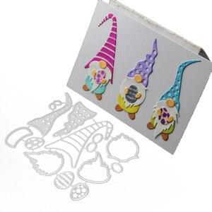 New Design Craft Metal Cutting Die Die Cuts Gnome Faceless Doll Decoration Scrapbook Album Paper Card Craft Embossing Die Cuts